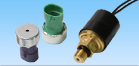 Pressure switches and pressure sensors that detect any change in pressure